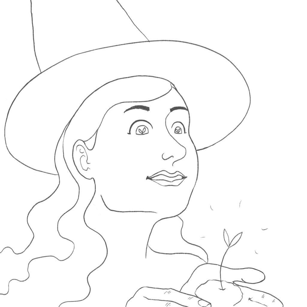 a coloring page